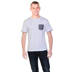 Cargo Bay Printed Crew Neck T-Shirt