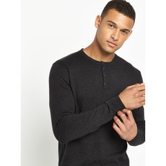 Superdry Orange Label Grandad Knit