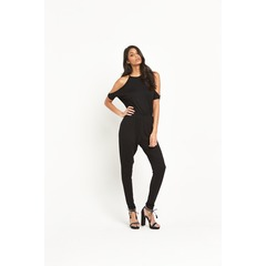 V by Very Cold Shoulder Jersey Jumpsuit
