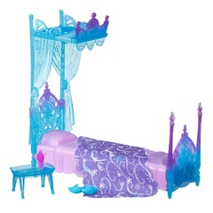 Disney Frozen Elsas Icicle Canopy Bed