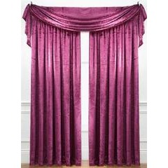 Laurence Llewelyn-Bowen Curtain Call Pleated Curtains - 160 x 137cm