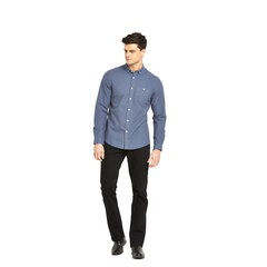 V By Very Mens Long Sleeve Brushed Oxford Shirt