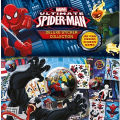 Marvel Ultimate Spiderman Deluxe Sticker Collection