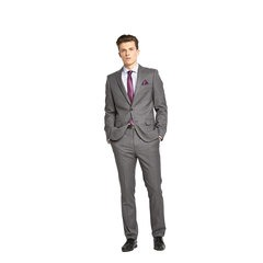 Taylor & Reece Tailored Fit Wool Mix Suit Jacket Grey