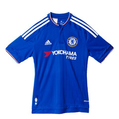 Adidas Chelsea 2015-16 Mens Home Short Sleeved Shirt