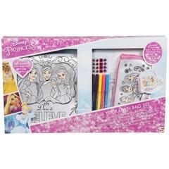 Disney Princess Colour Your Own Bag 2 Pack