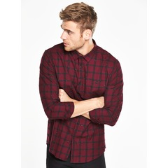 V by Very Long Sleeved Nepp Check Shirt