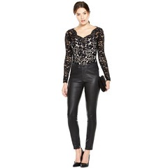 V By Very Lace Peplum Top