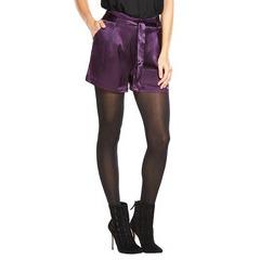 V By Very Satin Tie Waist Shorts