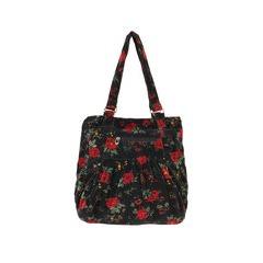 Joe Browns Vintage Floral Velvet Bag