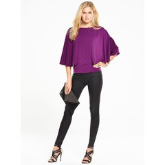 V by Very Cape Jersey Top