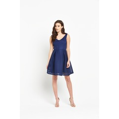 V By Very Airtex Skater Dress