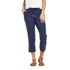 V By Very Linen Crop Trouser