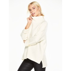 V By Very Roll Back Cuff Jumper