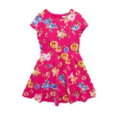 V By Very Girls Floral Skater Dress