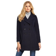 V by Very Double Breasted Pea Coat