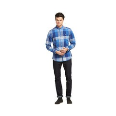 V By Very Long Sleeved Buffalo Check Shirt