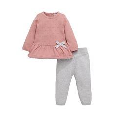 Ladybird Baby Girls Knitted Twosie Set