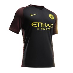 Nike Junior Manchester City FC 2016/17 Away Shirt