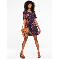 V By Very V neck Jersey Crepe Swing Dress