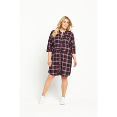 Junarose Check Dress
