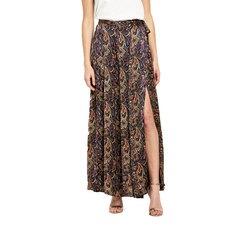 V By Very Paisley Print Satin Maxi Skirt