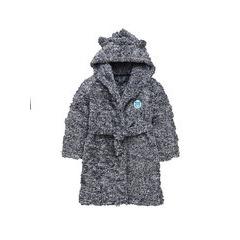 Mini V By Very Toddler Boys Cosy Fluffy Bear Robe