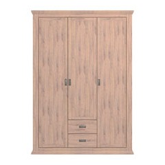 Washington 3-Door, 2-Drawer Wardrobe