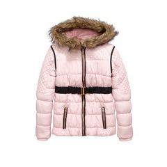 Freespirit Girls Belted Quilted Jacket