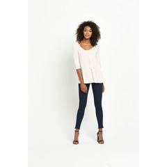 South Tassle Front Jersey Top