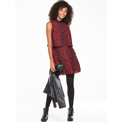 V By Very Ruffle Tiered Printed Dress