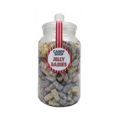 Extra Large Candy Shop Jelly Babies Jar - 2.3kg