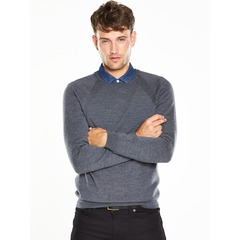 V by Very Merino Crew Neck Jumper