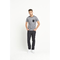 Goodsouls Textured Short Sleeve Pocket T-Shirt