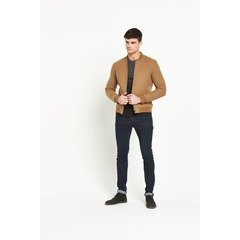 Selected Homme Henley Bomber Jacket