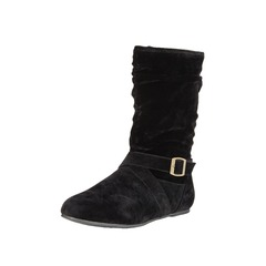 V by Very Chilten Immi Suede Buckle Detail Ankle Boots