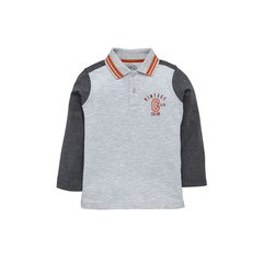 Ladybird Boys Pack of Two Long Sleeved Polo Shirt