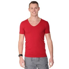 Smith & Jones Mens Peripteral V Neck T-shirt