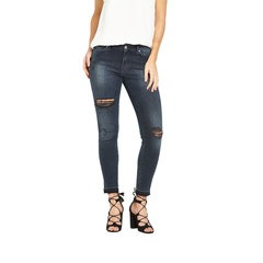 V By Very Ripped Fray Hem Skinny Jeans