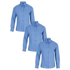 Top Class Girls Pack of 3 School Blouses