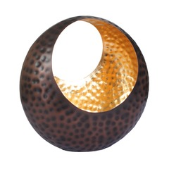 Copper and Gold Ornamental Tealight Holder