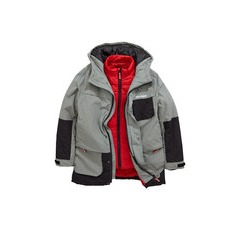 V By Very Boys 2 In 1 Parka With Inner Gilet