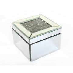 Smoke Crystal Jewellery Box - Small