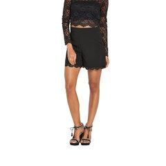 Miss Selfridge Black Lace Shorts