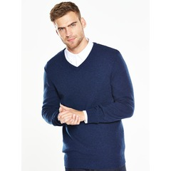 V by Very V Neck Lambswool Jumper