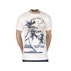 Cargo Bay Venice Beach Surf Print T-shirt