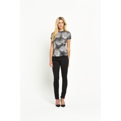 South Ity Wrap Buckle Top
