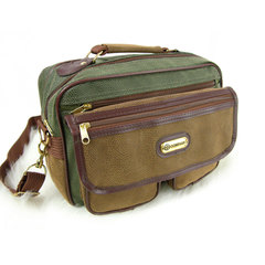 Travel Shop Suede Leather Look Flight Bag