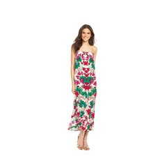 Warehouse Strappy Floral Print 90s Slip Maxi Dress