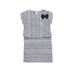 Name It Stripe Bow Dress